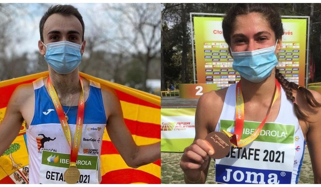 Eduardo Menacho oro y Marta Pintanel bronce en el nacional de campo a través individual sub23