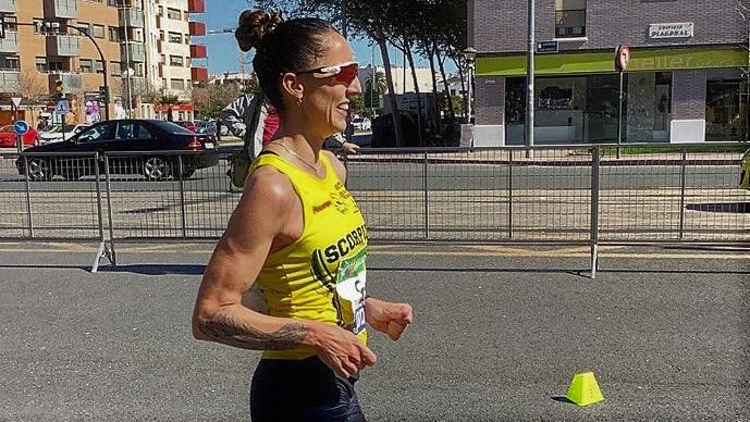 Ainhoa Pinedo, marchadora de ALCAMPO-Scorpio71