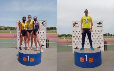 Dos oros y una plata en el Campeonato de Aragón de pruebas combinadas