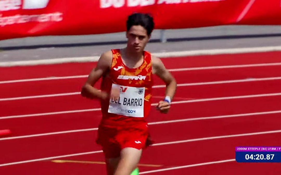 Sergio del Barrio vence en el encuentro internacional de Francoville con récord de España