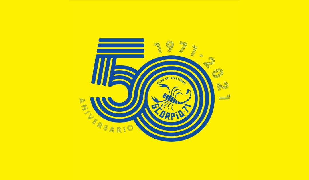 Logotipo 50 aniversario ALCAMPO-Scorpio71