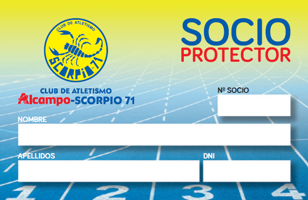 Carnet de socio protector de ALCAMPO-Scorpio71